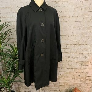 Vintage Calvin Klein A-Line Trench Coat Rain Coat